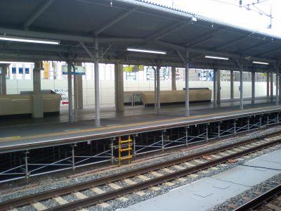 JR大阪駅の北ホーム