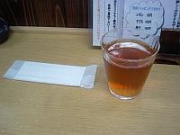 麦茶がうれしい ( ^o^)