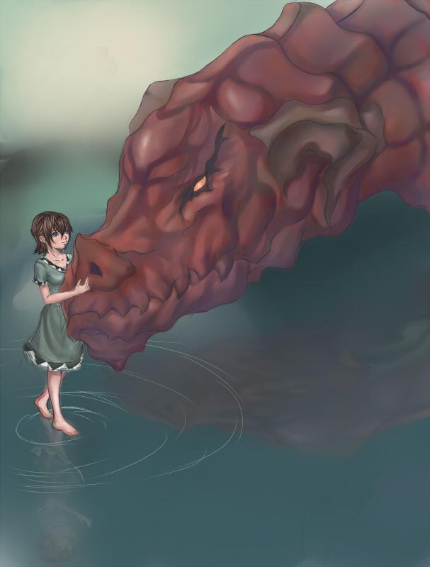 ドラゴンと少女
