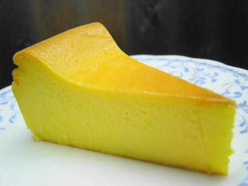 20081026かぼちゃのチーズケーキカット
