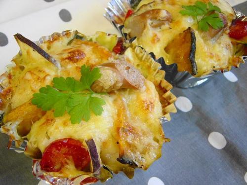 20081028芋とかぼちゃのグラタンパン
