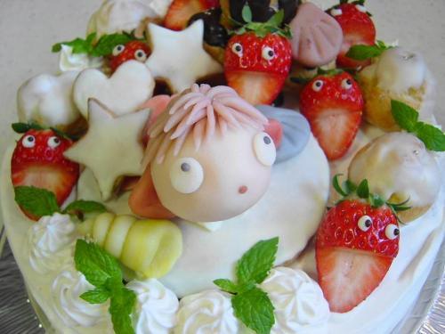 20081102ポニョケーキ