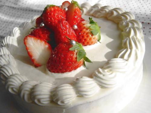 20090113イチゴのケーキ