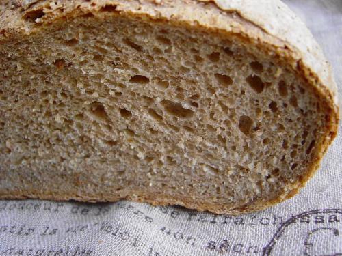 20090123ライ麦パン断面