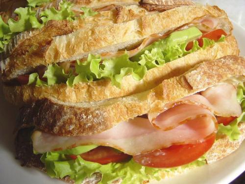 20090530レーズン酵母カンパでBLTA(アボカド)サンド