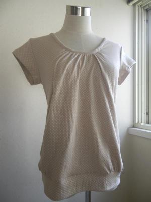 ギャザーTシャツ