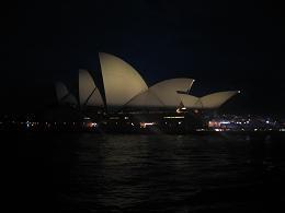 オペラハウス夜