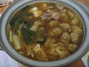 カレー団子鍋