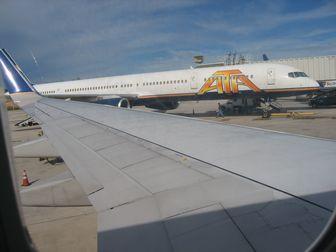 飛行機の席