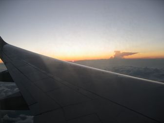 夕日が沈む2