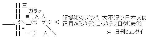 日刊ヒュンダイ パチンコ提灯記事