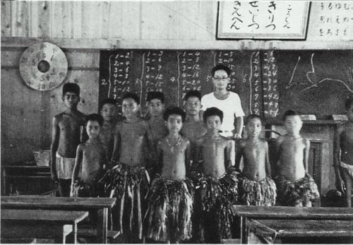 パラオ日本統治時代 学校