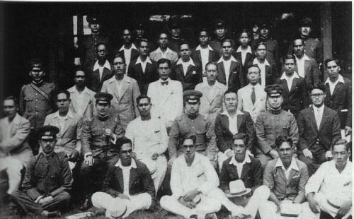 パラオ日本統治時代 集合写真
