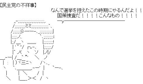 田原 民主党の不祥事