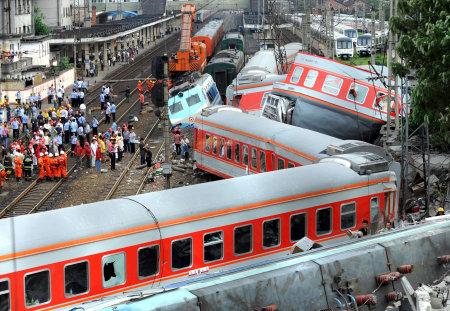 江沢民 列車事故