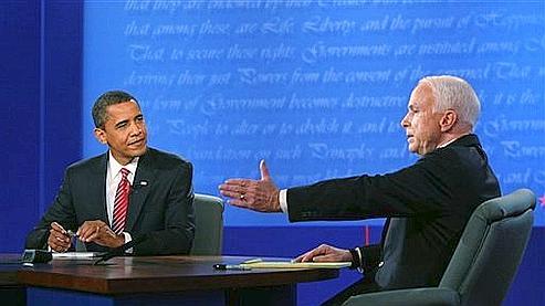 オバマとマケイン