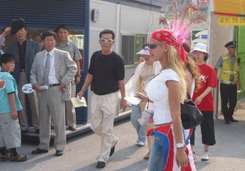 韓国 街角