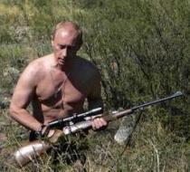 プーチンと銃