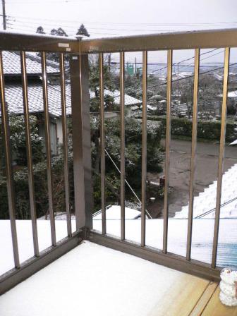 初雪風景1