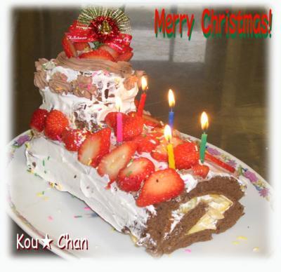 クリスマスケーキ2008