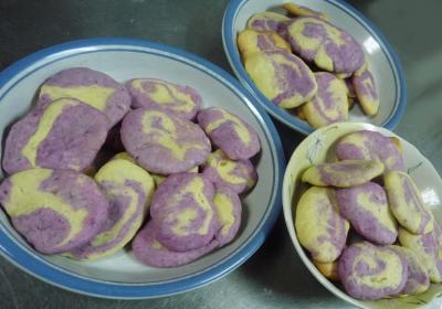 紫イモのクッキー03