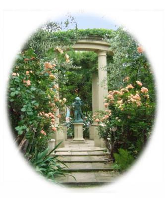 ひらかたパークのローズガーデン天使の庭?