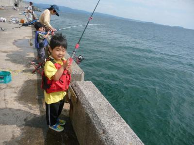 初めての魚釣り2009.05.31-01