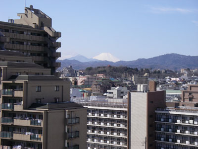 H21年3月 富士山
