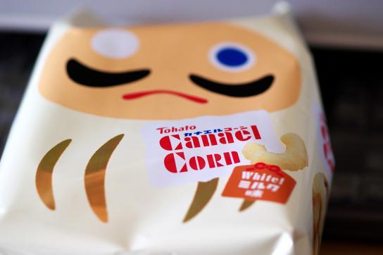 カナエルコーン・ホワイトミルク味