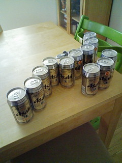 ビールたくさん