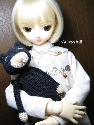 雛姫とクロちゃん