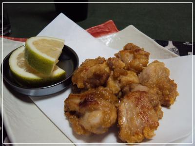 鶏唐揚げ・にんにく生姜