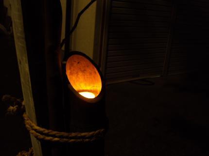 神楽 竹灯篭