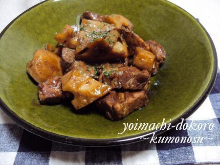 豚れんこんバルサミコ煮
