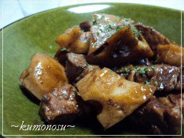 豚れんこんバルサミコ煮 2