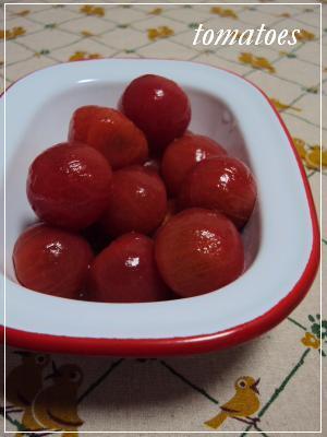トマトの甘酢