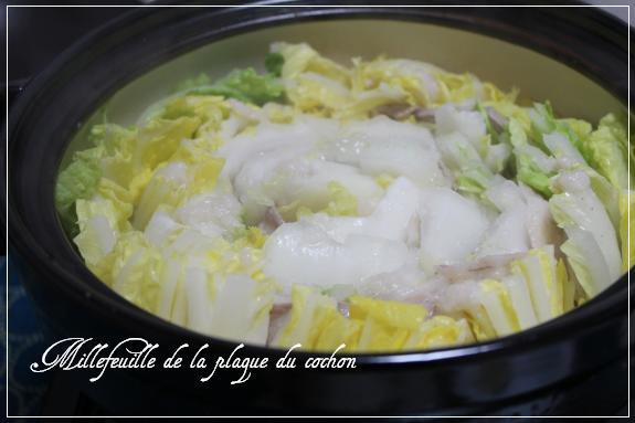 豚白菜塩麹鍋 2