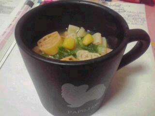 カップdeスープ♪