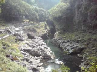 高千穂峡。