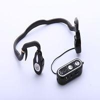 骨伝導方式の補聴器【骨伝導ヘッドセット HIB-707W】