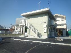 水戸市城南  新築アパート(外観)
