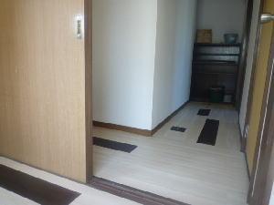 水戸市谷田町 賃貸(廊下)