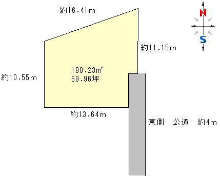 水戸市姫子 区画図