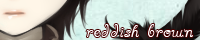 reddish brownバナー