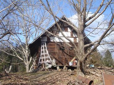 2009年 冬の山小屋