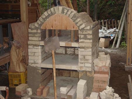 石窯ほぼ完成