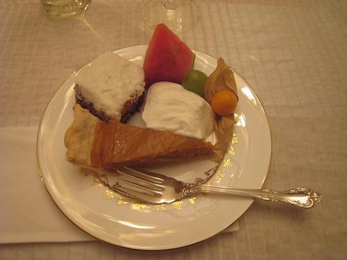 感謝祭ディナー