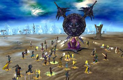 MMORPGオンラインゲーム エターナルカオス