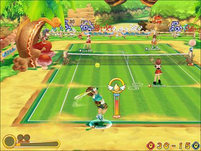 オンラインゲーム ファンタテニス