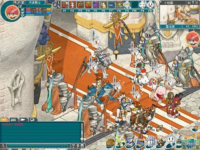 オンラインゲームMMORPG エンジェルラブオンライン